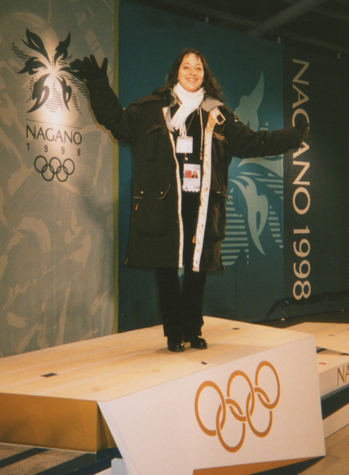 Olympic Announcer Cara jones